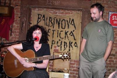 Pavla Marianová a Jan Matěj Rak - foto: Tomáš Pohl ©